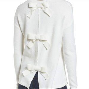 Halogen bow back sweater 🎀